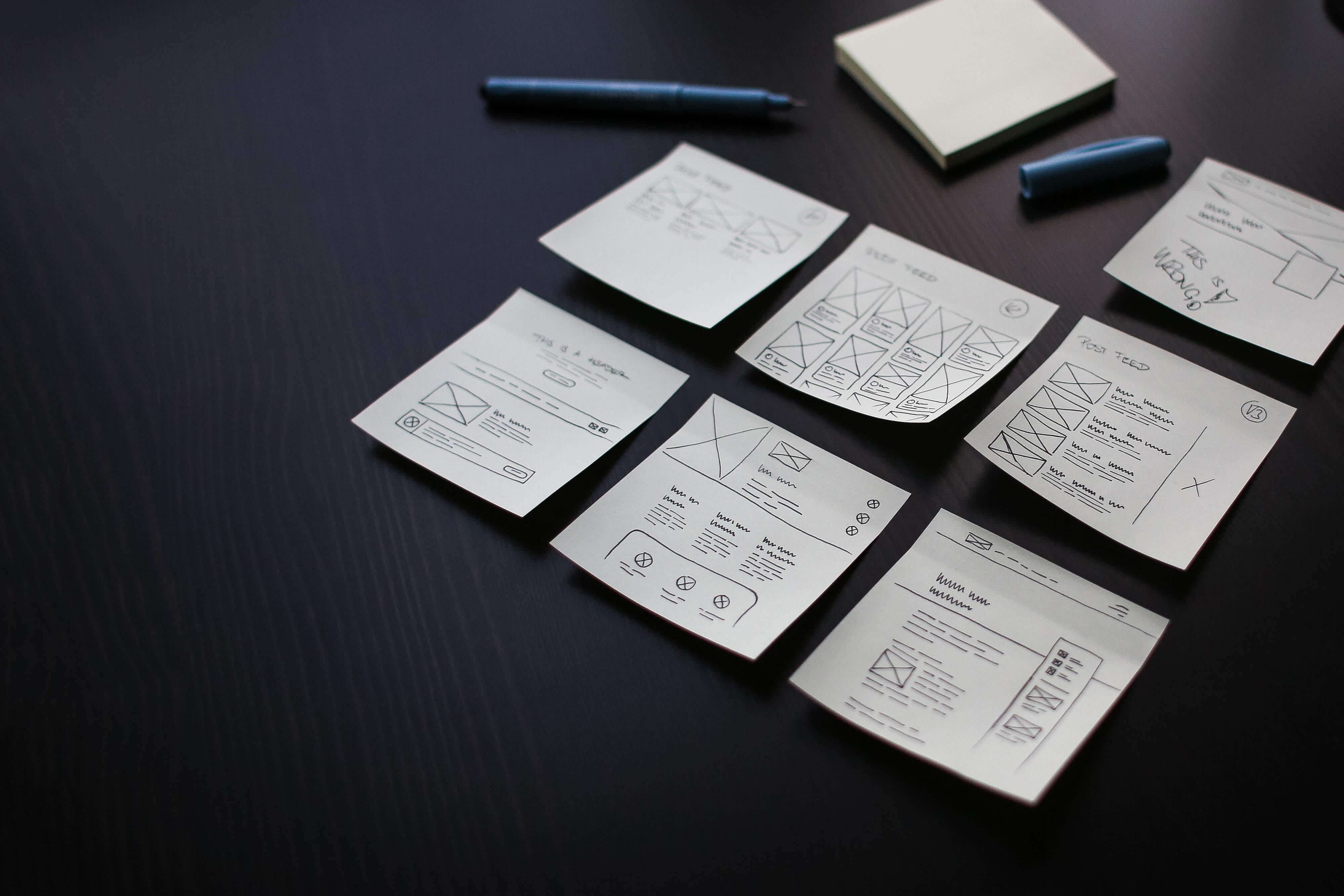 Webdesigner tervek